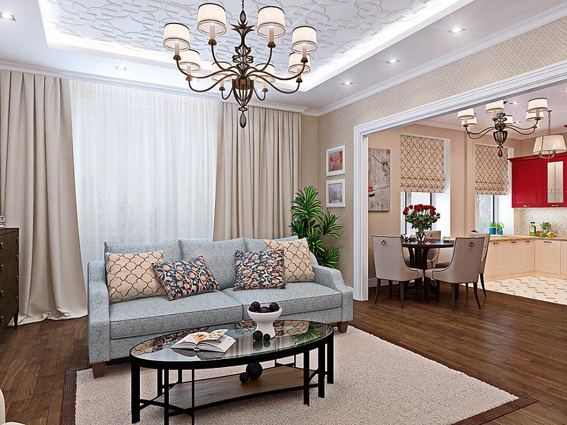 Интерьер современной квартиры в центре Одессы 2